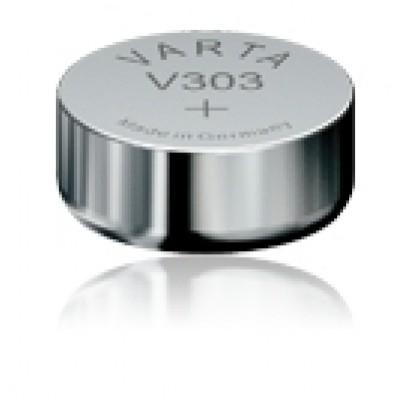 Uhrenbatterie Typ 303 SR44SW Silberoxyd 1,55V 160mAh 5,4x Ø11,6mm