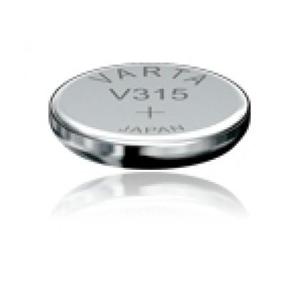 Uhrenbatterie Typ 315 SR716SW Silberoxyd 1,55V 20mAh