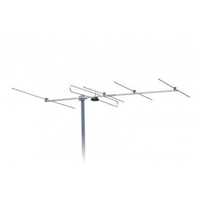UKW 5 Elemente Antenne mit Mastschelle