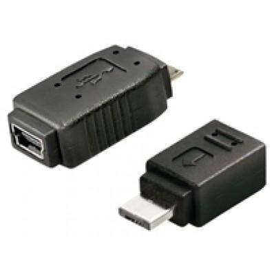 Micro USB Adapter,Micro USB/B-Stecker - Mini USB Buchse