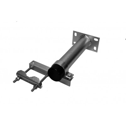 A.S.SAT flexible Mastschiebeschelle zur Befestigung an Wand oder Sparren bis zu 25 cm