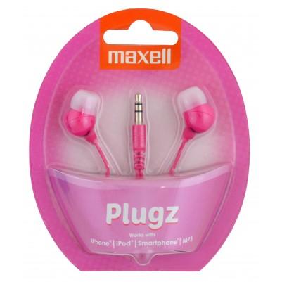 MAXELL PLUGZ Ohrhörer pink