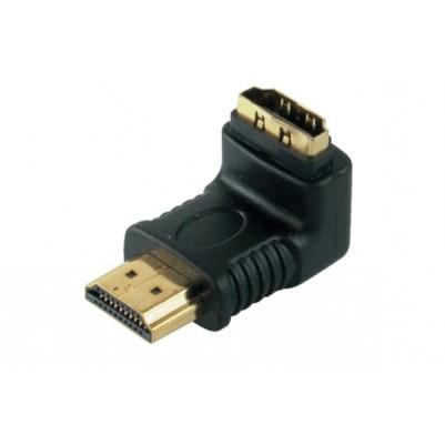 HDMI Winkeladapter 90°, HDMI Stecker HDMI Buchse