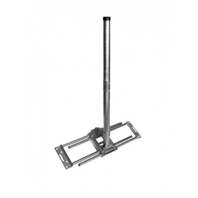 A.S.SAT Dachsparrenhalter Variante II inkl. 110cm Mast Ø 48 mm Stahl verzinkt
