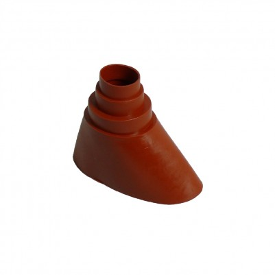 A.S.SAT Gummi-Dichtungsmanschette für Masten von Ø 38 - 60 mm ziegelrot
