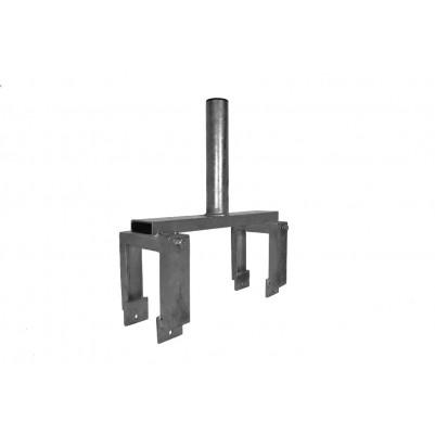 A.S.SAT Stahl Geländer und Balkon- Brüstungshalter verstellbar