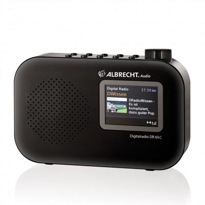 Albrecht DR65C Digitalradio DAB/DAB+/UKW mit Farbdisplay
