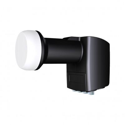 Inverto Black Pro Quad LNB mit terrestrischem Eingang Ø40mm 0,2dB