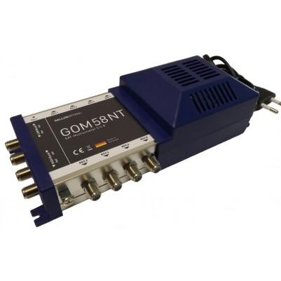 GALLUNOPTIMAL Multischalter 5 Eingänge / 8 Ausgänge mit Netzteil 230V