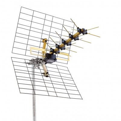 UHF 12 Elemente Antenne Kanal 21-69 LXline