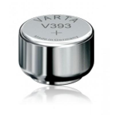 V393 SR754W Silberoxyd 1,55V 65mAh 5,4x Ø7,9mm