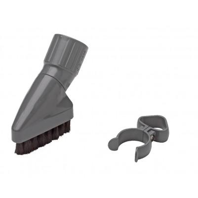 SEBO Staubpinsel mit Naturhaar und Zubehörklammer für Sebo Felix- X/XP- G- 370- und 470-Geräte
