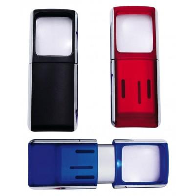 WEDO Lupe mit LED-Licht, vergrößert 3-fach