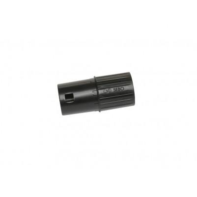 SEBO Adapter gelocht für 31 mm Teleskoprohre, schwarz