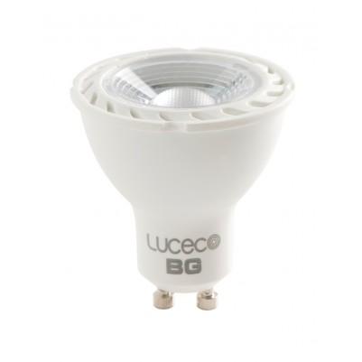 LUCECO 5W LED-Lampe Spot COOL WHITE (6000k), GU10, 370lm, dimmbar