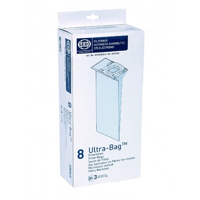 SEBO 8er Filterbox für SEBO X/XP/G/C/370/470 Geräte