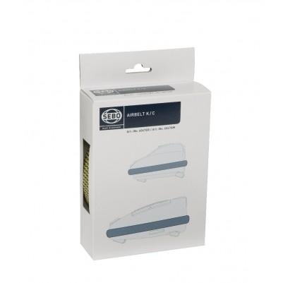SEBO Airbelt Stoßbandage für Sebo K-, C- und D-Geräte, citrus/schwarzgrün