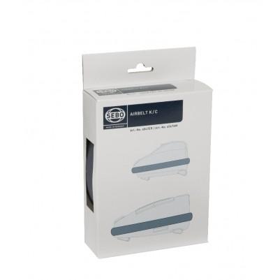 SEBO Airbelt Stoßbandage für Sebo K-, C- und D-Geräte, grauschwarz