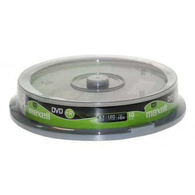 MAXELL DVD+R 4.7GB 16x Speed10er Spindel