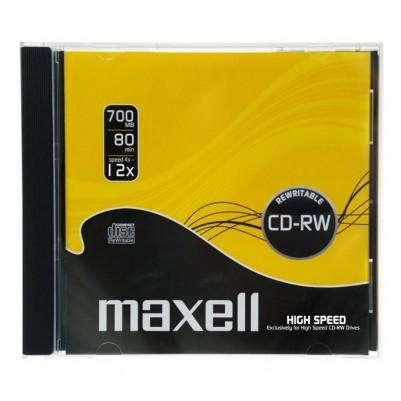 MAXELL CD-RW 80 überschreibbar 700MB 1x-4x speed 1er