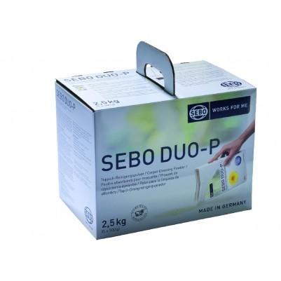 SEBO Duo-P Reinigungspulver 2,5 kg 5 Beutel a' 500g
