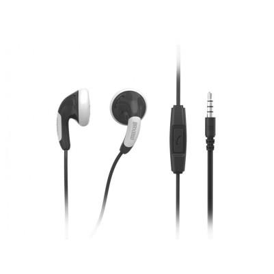 Maxell Colour Budz + Mic Stereo Ohrhörer mit Mikrofon schwarz
