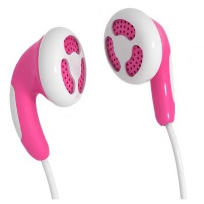 MAXELL Colour Budz Stereo Ohrhörer rosa Smartphone Klinke 3,5mm