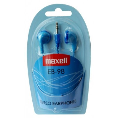 Maxell Kopfhörer EB-98 3,5mm Klinke in blau