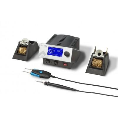 ERSA i-CON2V 2 Kanal-Lötstation mit SD-Slot Lötkolben i-TOOL 150W & Chip-TOOL