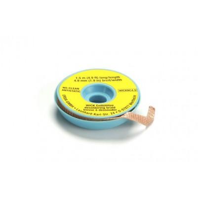 ERSA Entlötlitze 4,9 mm breit 1,5 m lang auf Antistatikspule