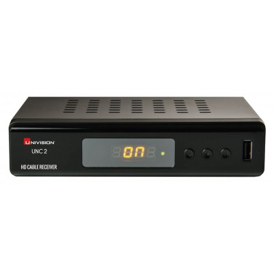 Univision HD DVB-C Receiver, 1x HDMI-Ausgang, Full HD 1080p