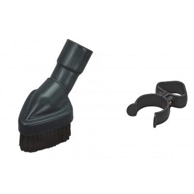 SEBO Staubpinsel mit Zubehörklammer für X/XP/G- Geräte dunkelgrau