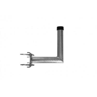 A.S.SAT Stahl Mastausleger 25 cm Feuerverzinkt