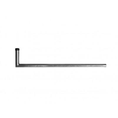 SAT Stahl Mastausleger 130 cm Feuerverzinkt in L-Form