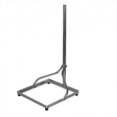 A.S.SAT Alu Balkonständer 50x50 cm mit Mast 1m zerlegbar