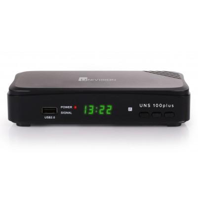 UNIVISION UNS100+ DVB-S2 Full HD-Receiver mit PVR Aufnahmefunktion