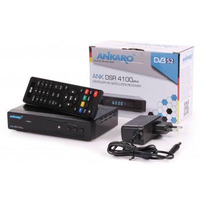Ankaro DSR4100+ digitaler HD Satelitten Receiver