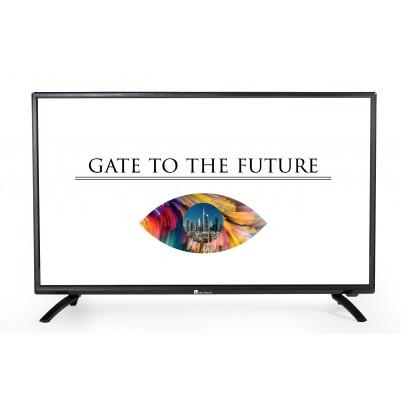 UNIVISION 81cm 32 Zoll LED-TV HD-Ready Triple Tuner mit DVB-T2 H.265
