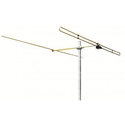 UKW 2 Elemente Antenne mit Mastschelle