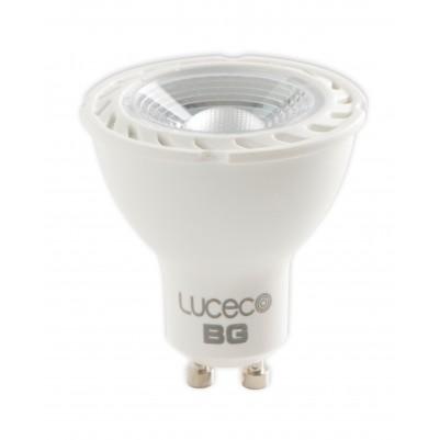 LUCECO 5W LED-Lampe Spot WARM WHITE (2700k), GU10, 370lm, dimmbar
