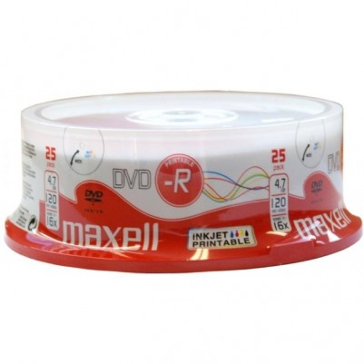 MAXELL DVD-R 4.7GB 16x speed 25er Spindel bedruckbar