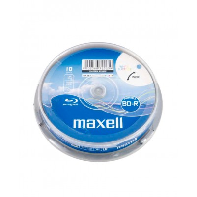 10 MAXELL BD-R SL Blu-ray Rohlinge bedruckbar