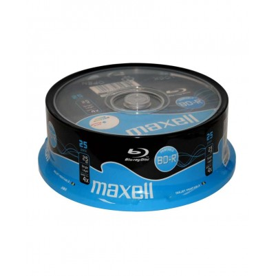 MAXELL BD-R Blu-ray 25GB 4x speed 25er Spindel bedruckbar