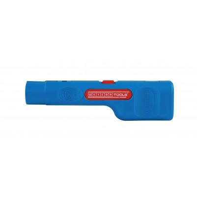 Weicon Coax-Stripper No. 1 F Plus für Kompressionsstecker gelber Einsatz