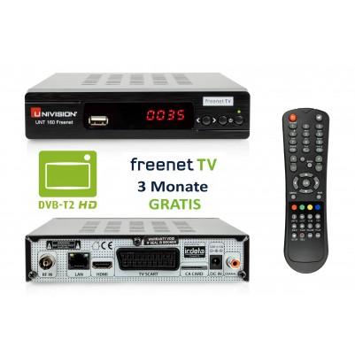 Univision UNT160 HD DVB-T2 Freenet Receiver