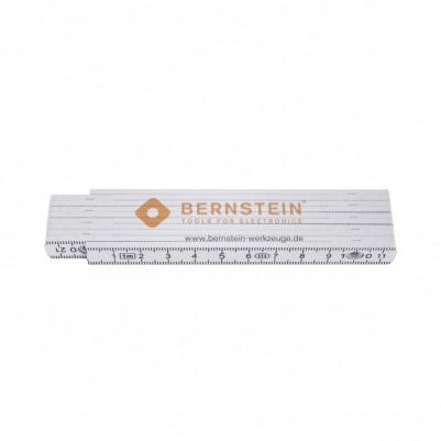 Bernstein Zollstock 1 m aus Kunststoff