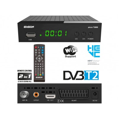 Edision PICCO T265 Full HD DVB-T2 Receiver