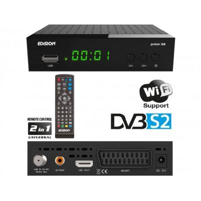 Edision PROTON S2 Sat HD Receiver