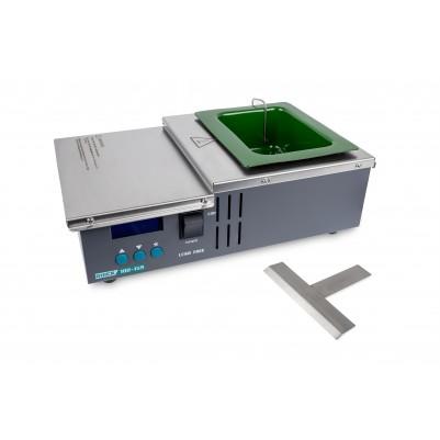 QUICK Löttiegel eckig 98 x 121mm 58mm tief 100°-450°C 600W
