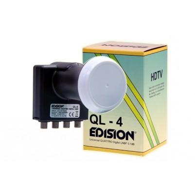 Edision Quattro LNB Ø40mm 0,1dB